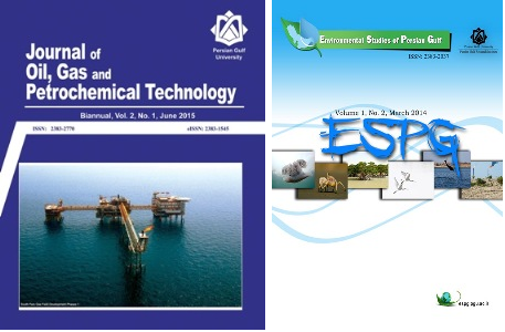 چاپ مقالات برتر در مجلات Journal of Oil, Gas and Petrochemical Technology و Environmental Studies of Persian Gulf